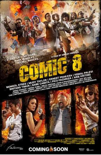 Comic 8 Film Recomended