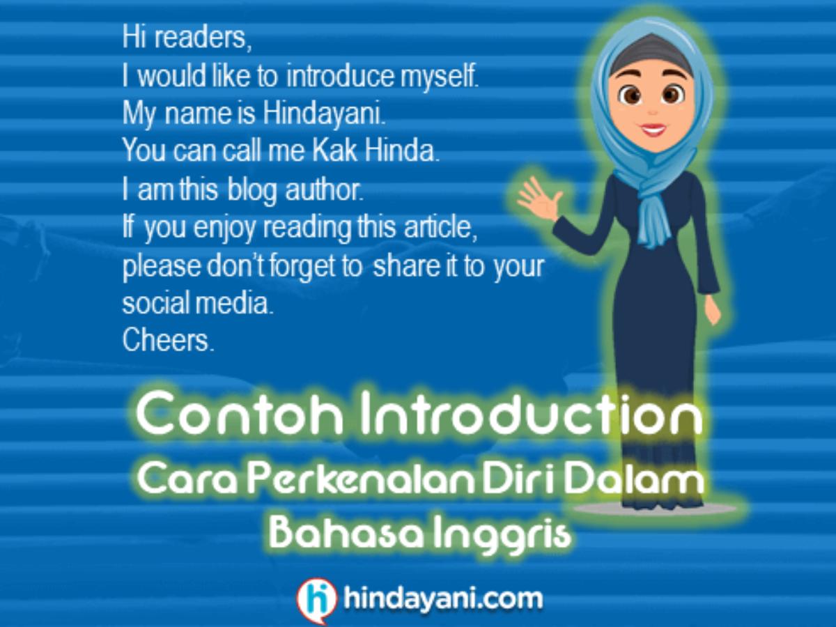 20 Contoh Introduction Cara Perkenalan Diri Bahasa Inggris
