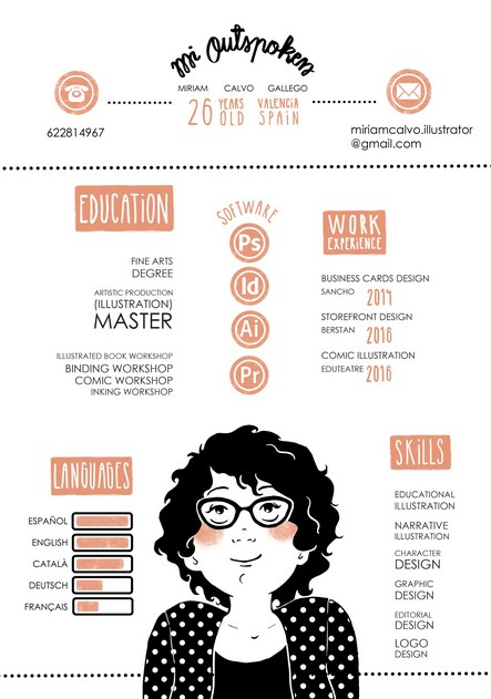 1 Contoh Curriculum Vitae Kreatif