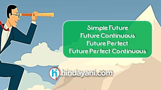 101 Materi Grammar Future Tense Simple, Perfect, Continuous