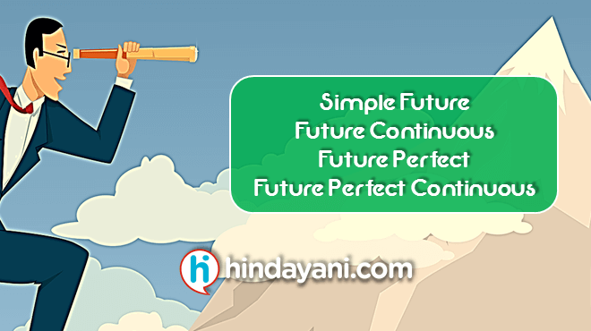 101 Materi Grammar Future Tense Simple, Perfect, Continuous