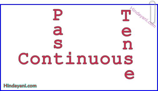 Materi Bahasa Inggris TOEFL Past Continuous Tense