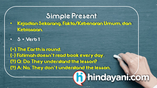 Simple Present Tense - Hindayani.com