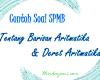 Contoh Soal SPMB dan Pembahasan Tentang Aritmatika