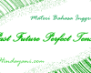 Rumus Past Future Perfect Tense