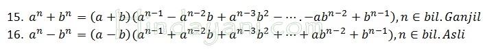 Pemfaktoran dan Penjabaran sebagai Bahan Olimpiade Matematika 2