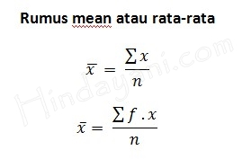 Rangkuman Materi Mean Median Modus 2