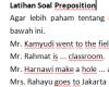 Cara Menggunakan Dan Fungsi Preposition