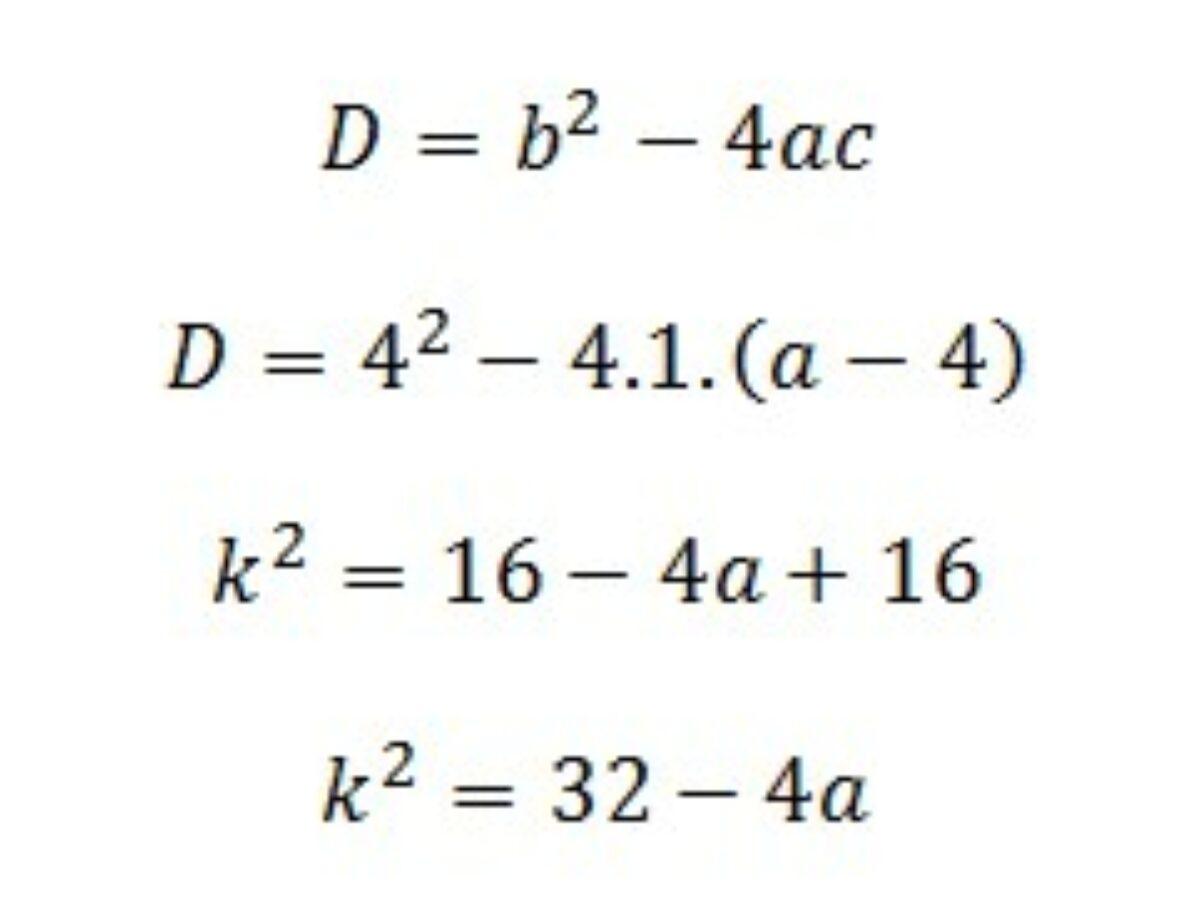 Materi Diskriminan Dan Pemakaiannya Dalam Matematika
