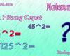 Trik Cepat Hitung Bilangan Kuadrat Berakhiran 5