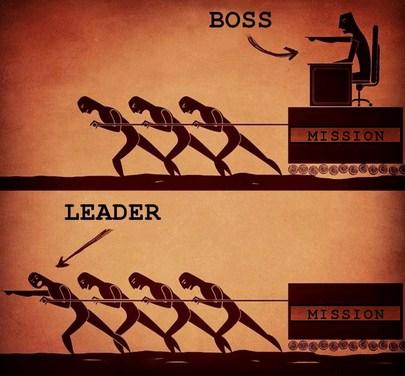 tipe pemimpin / atasan / bos dan cara bersikap yang baik