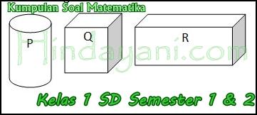 Kumpulan Soal Matematika Kelas 1 SD Semester 1 2 - cover