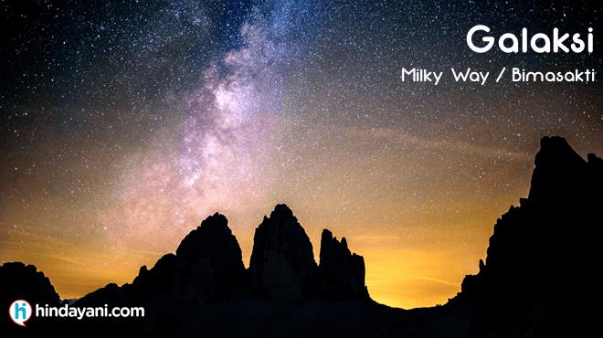 Galaksi Bimasakti Milky Way