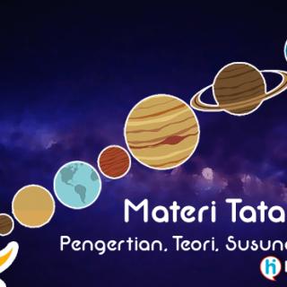 Gambar Tata Surya - Materi, Pengertian, Teori, Urutan Susunan tata surya