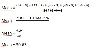 Kumpulan Soal Matematika Bab Mean Median Modus - Image 2