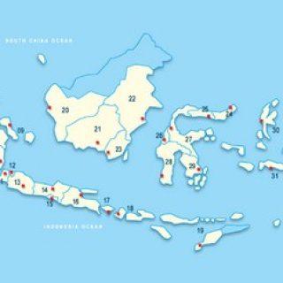 Daftar Provinsi di Indonesia dan Ibukotanya Tahun 2015