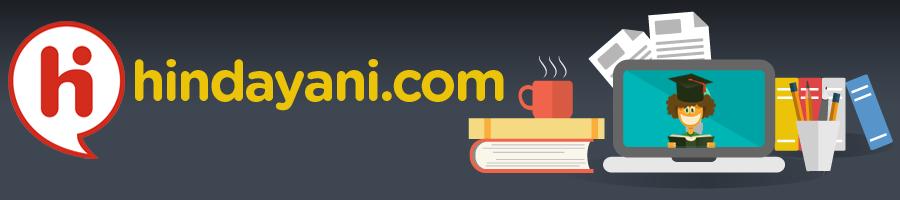 Hindayani Blog - Kumpulan Soal, Share Pengalaman Kerja