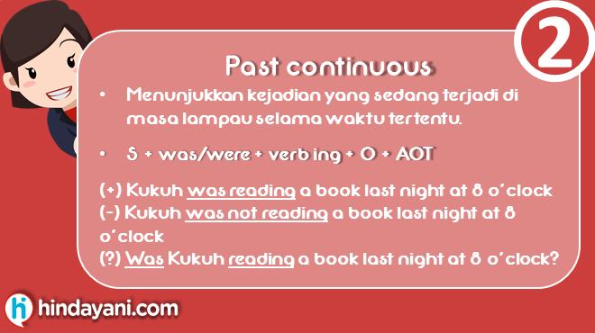 Materi Grammar Past Tense - Past Continuous