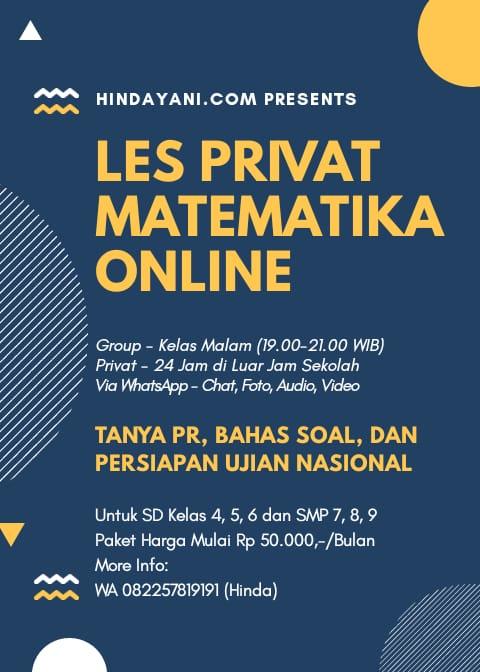 Les Privat Matematika Online