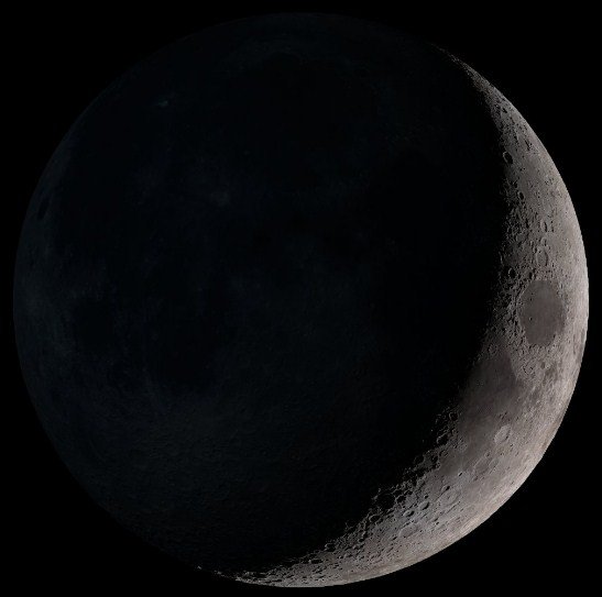 01 Fase Bulan - Waxing Crescent