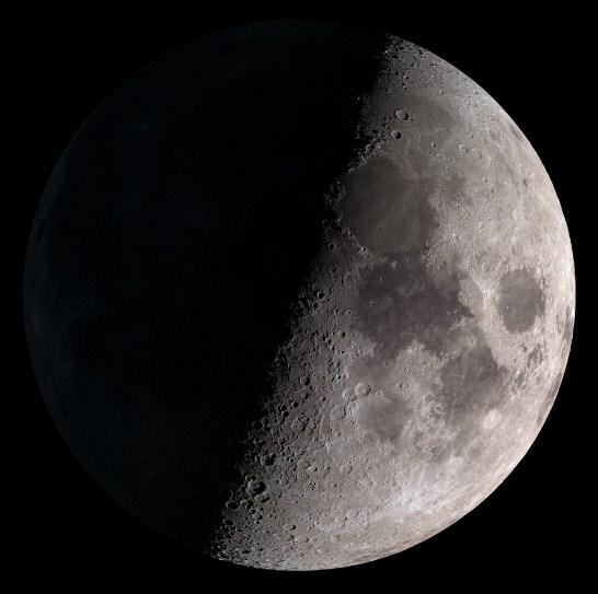 02 Fase Bulan - First Quarter