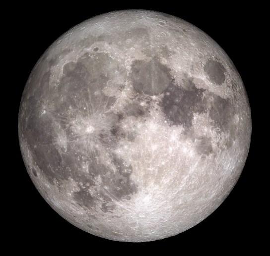 04 Fase Bulan - Full Moon - Bulan Purnama