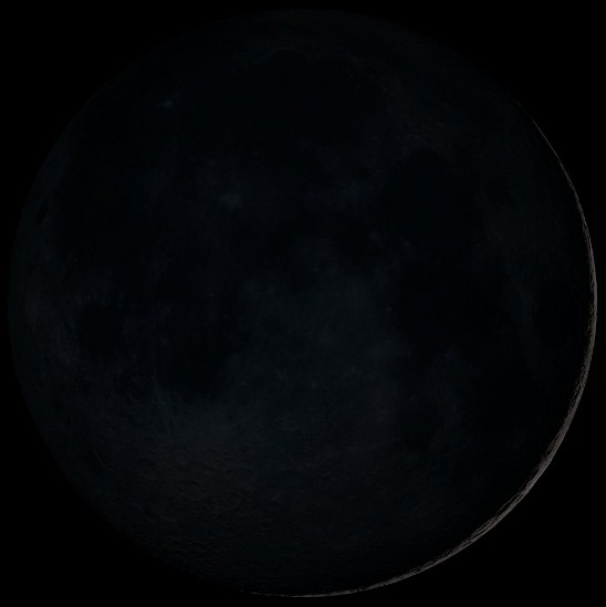 08 Fase Bulan - New Moon - Bulan Baru