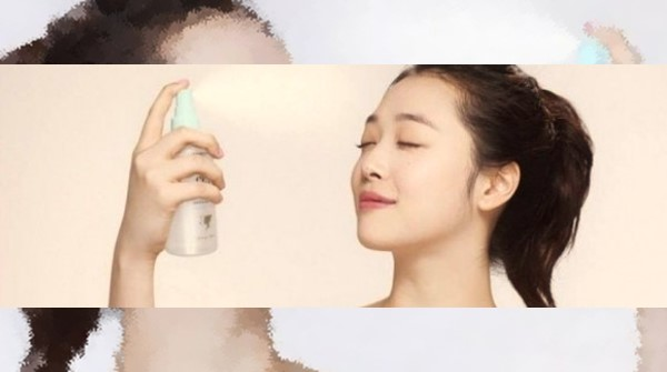 cara membuat setting spray wajah sendiri