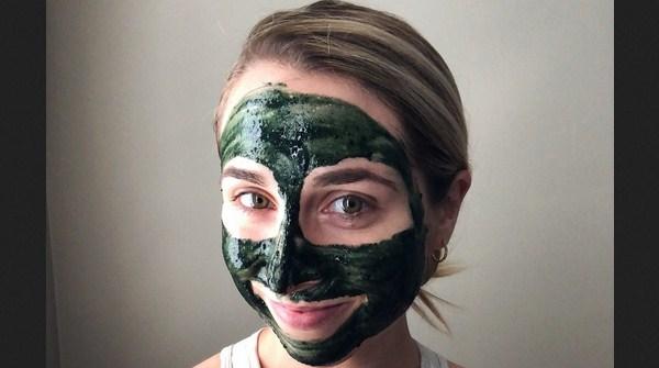Masker Spirulina untuk Wajah