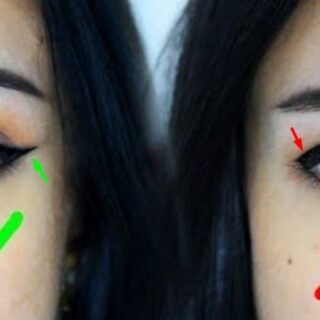 Gambar 1 - Tutorial Pakai Eyeliner untuk Bentuk Mata Turun