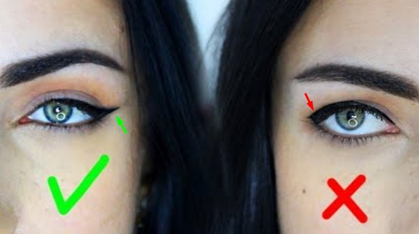 Tutorial Pakai Eyeliner untuk Bentuk Mata Turun