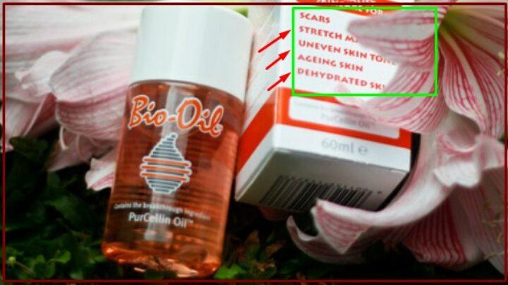Gambar 2 - Cara penggunaan bio oil di muka