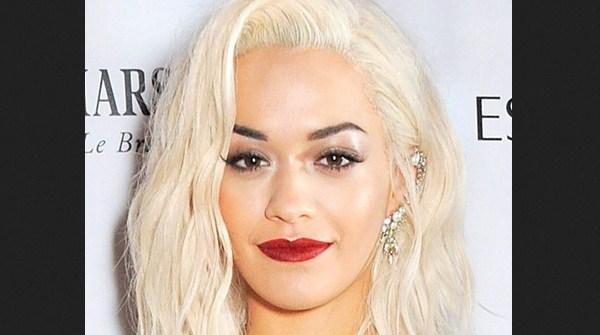 Platinum Blonde Rita Ora