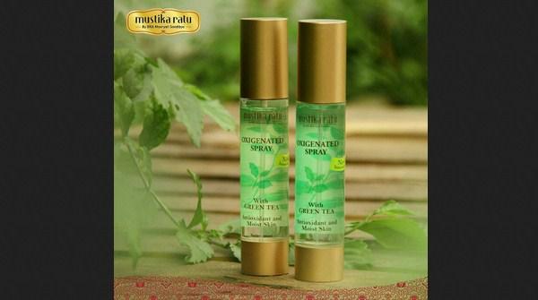 Setting Spray yang Bagus dan Murah dari produk lokal - Mustika Ratu Oxygenated Spray
