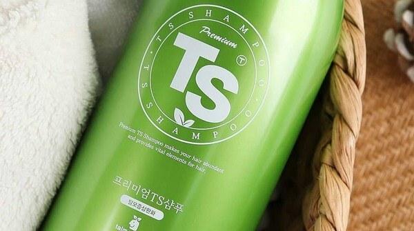 Shampo Penumpuh Rambut dari Korea - TS Shampoo