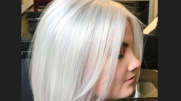 warna rambut Marshmallow
