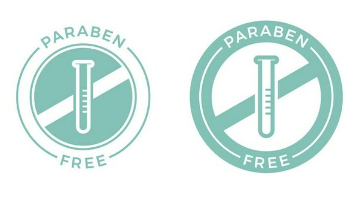 gambar 1 - produk kecantikan tanpa paraben - logo paraben free