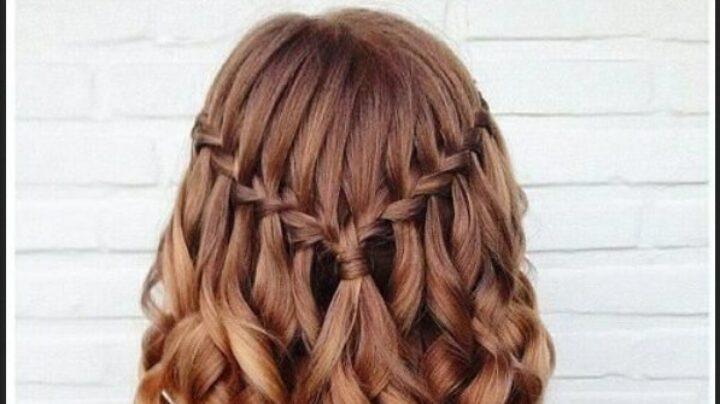 gambar 2 - Kepang Waterfall curly