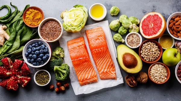 Makanan Pescatarian adalah nabati dan ikan